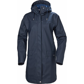 Helly Hansen Moss Rain Coat Women navy